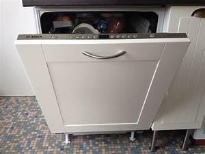 agreable meuble pour lave vaisselle integrable 1 porte With meuble pour lave vaisselle integrable