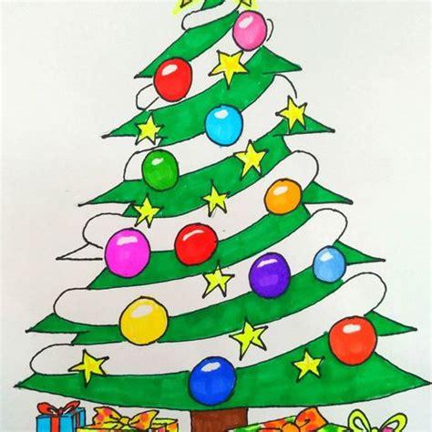Ornamen Natal Gambar Pohon Natal Png