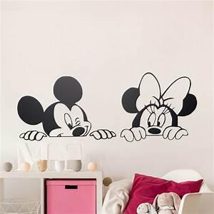 Dessin animé de Mickey Minnie Souris Mignon Animal Vinyle