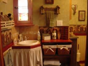 primitive bathroom decor decorating style for bathroom