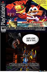 What Conker Thinks About Bubsy 3D By Crashclashfever