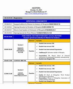 8 Sample Ceremony Agenda Free Sample Example Format