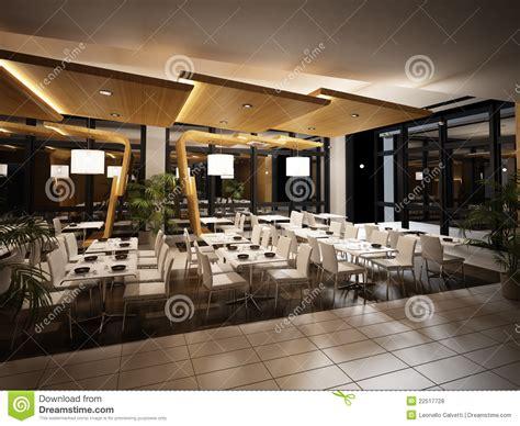 cuisine moderne modern restaurant interior view royalty free stock photos