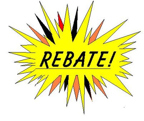 rebates clipart   cliparts  images