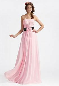 whiteazalea bridesmaid dresses romantic pink bridesmaid With pink long dress for wedding