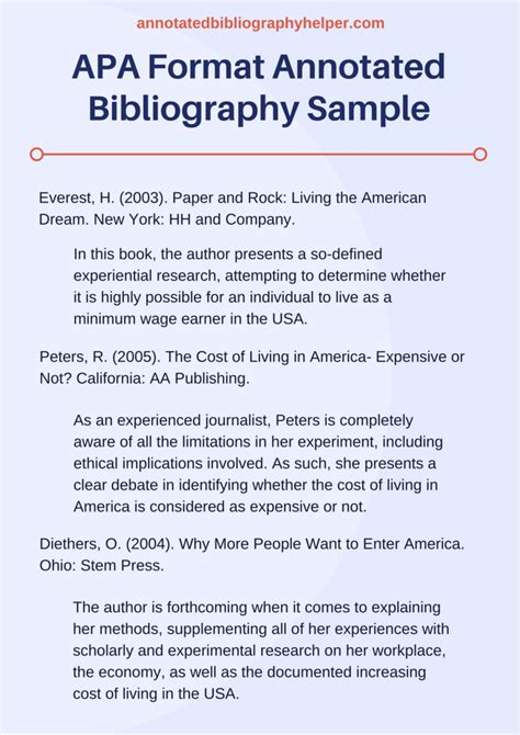 Free Apa Bibliography Template by Annotated Bibliography Essay