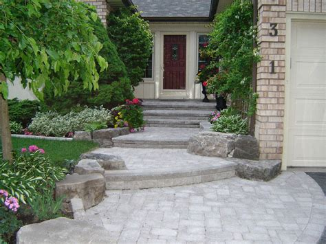 front entry landscape ideas landscaping large front yards front entrance landscaping front yard landscaping interlocking