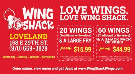 wing shack loveland coupons loveland reporter herald