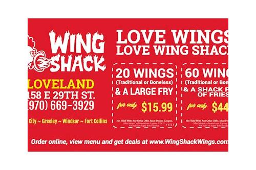 Wing Shack Coupons >> Coupon Like A Boss
