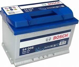 Bosch S4 12v 60ah : s4 008 bosch car battery 12v 74ah type 096 s4008 car ~ Jslefanu.com Haus und Dekorationen