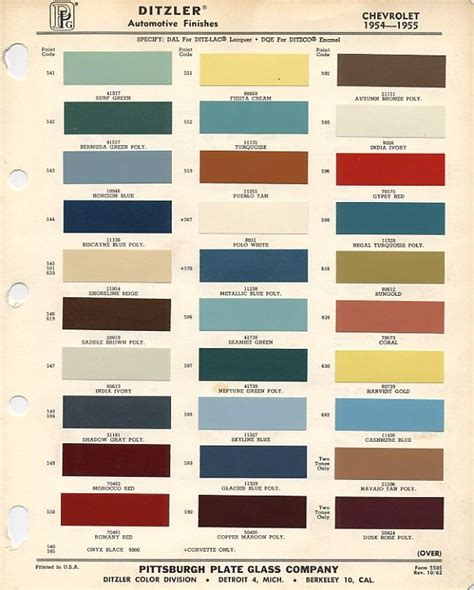 where is the paint code on a chevy traverse thats right official color code paint thread pics needed trifive 1955 chevy 1956 chevy
