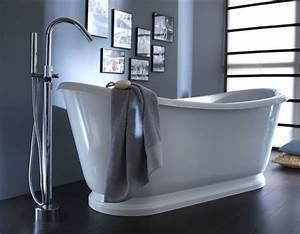Baignoire Ilot Contre Mur : comment installer une baignoire ilot contre un mur simple astuces pour mettre en valeur votre ~ Nature-et-papiers.com Idées de Décoration