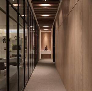 White modern hallway interior design ideas for Interior decor hallways