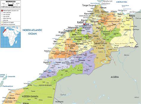 Carte De à Imprimer Avec Villes by Carte Du Maroc Avec Les Villes Carte Maroc Villes Villes