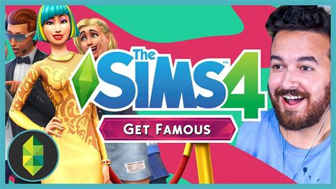 The Sims 4 Get Famous Expansion Reaction (i'm In The