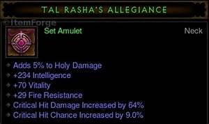 Diablo 3 EU [Legacy] Tal Rasha's LvL 60 FULL SET Sacrifice ...
