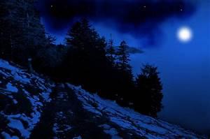 Blue Night Background by Burtn on DeviantArt