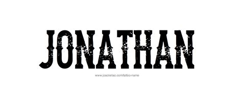 jonathan  tattoo designs