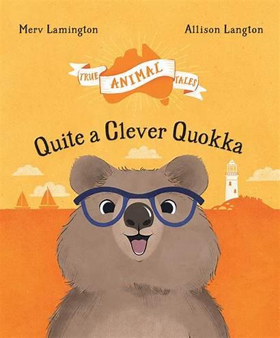 Quokka Quite Clever Lamington Merv Title Affirmpress