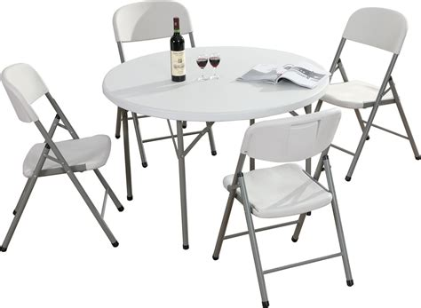6 foot round table top 4ft round plastic top table with fold away legs