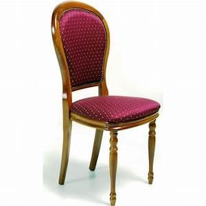 Chaise Tissu Salle A Manger : chaise de salle manger tissu adeline ~ Teatrodelosmanantiales.com Idées de Décoration