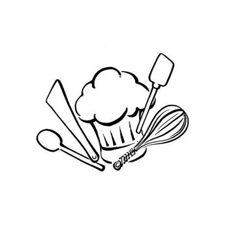 cuisiner avec un patissier coloriage ustensiles de cuisine dessin gratuit à imprimer