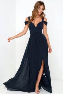 navy cocktail dress wedding navy blue dress maxi dress cocktail dress prom dress bridesmaid dress 179 00