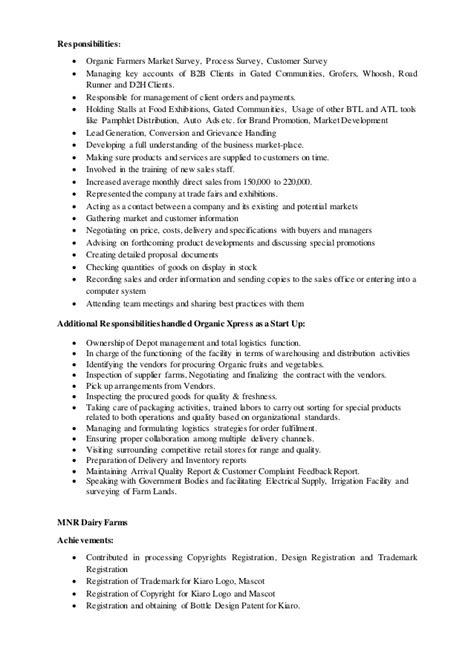 Farmer Resume by Sanjeev Resume Marketing