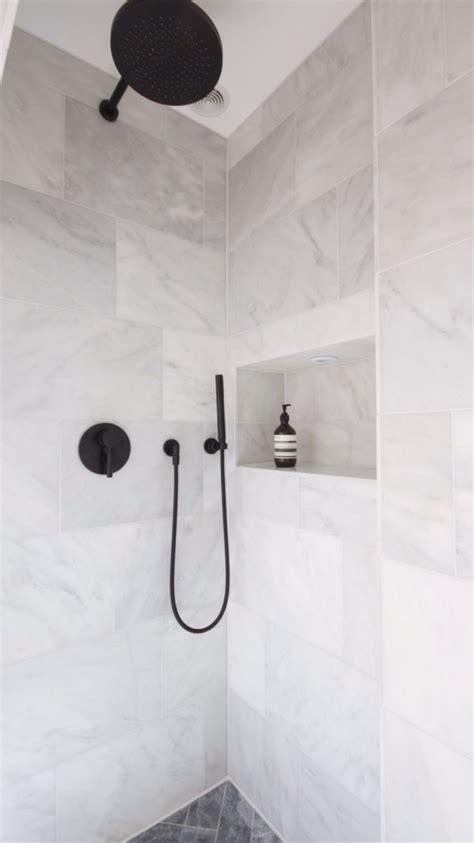 marble showers ideas  pinterest