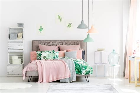 Green And Pink Bedroom by How To Decorate A Pink Bedroom