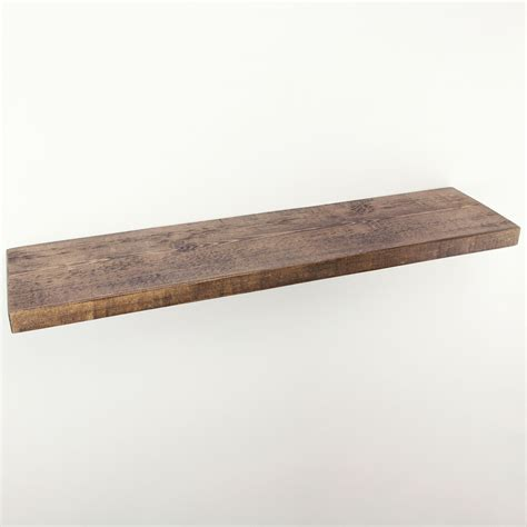 rustic floating shelves 9x1 5 solid wood funky chunky