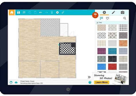 Free Home Addition Design App by Visualize Flooring Design Ideas Roomsketcher