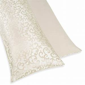 Buy sweet jojo designs victoria maternity body pillow case for Bed bath beyond maternity pillow