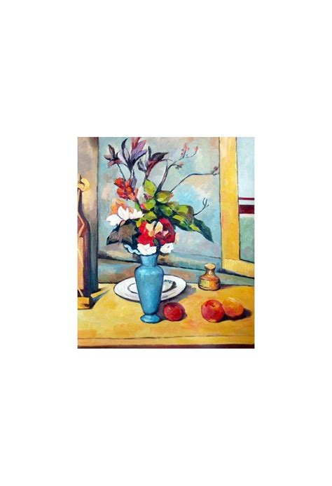 Paul Cezanne Best Paintings The Blue Vase By Paul Cezanne Gallery Painting