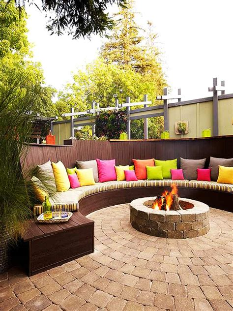 outdoor pit seating ideas best outdoor pit ideas to the ultimate backyard