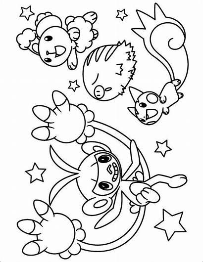 Pokemon Coloring Pages Printable Sheets Reshiram Giratina