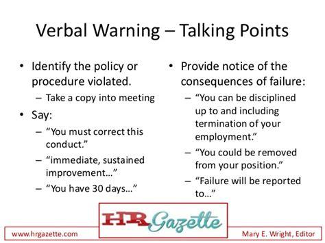 sample talking points format