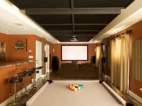 Small Basement Man Cave Ideas