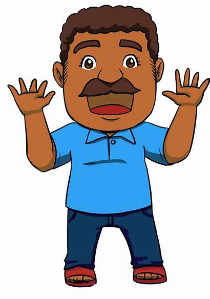 Clipart Dad Father Indian Transparent Grandfather Son
