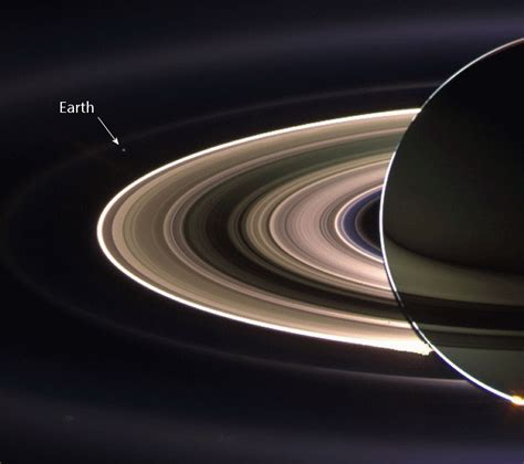 Smile Cassini Take Picture Earth From Saturn