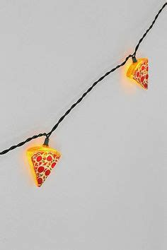 pizza string lights pizza clothing accessories on pizza