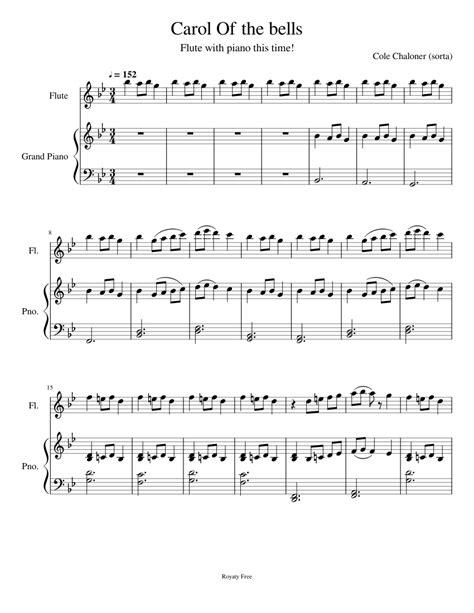 Carol of the bells god rest ye merry gentlemen intermediate. Carol_Of_the_bells Sheet music for Flute, Piano (Solo) | Musescore.com
