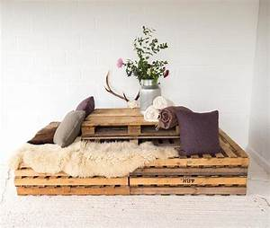 Fabriquer Un Banc D Interieur : faire un banc en palette de bois et le d corer soi m me les top id es diy ~ Melissatoandfro.com Idées de Décoration