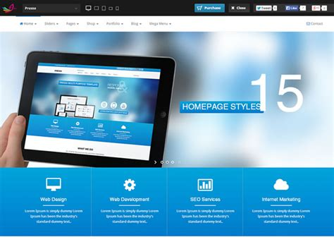 Html5 Website Templates Best Html5 Bootstrap Website Templates Entheos
