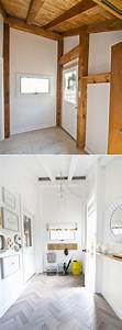 Before, And, After, Sarah, Dorsey, U0026, 39, S, Entryway, Makeover