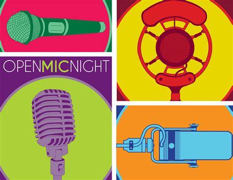 foto de Poster Campaign Open Mic Night on Behance