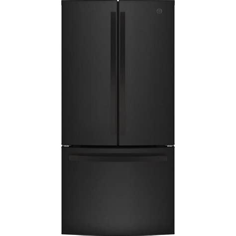 ge  cu ft counter depth french door refrigerator  ice maker black energy star