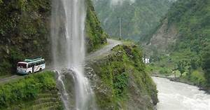 Beauty Of Nepal: The Chame-Besisahar road in Manang