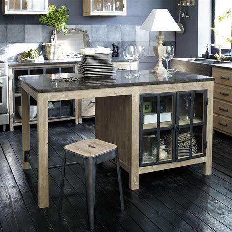 cuisines maisons du monde meubles de cuisine indépendant et ilot maison du monde