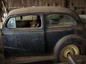 1937 Chevy 2 Door Sedan Barn Find Bomb Rat Rod Low Rider